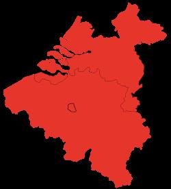 Map of Fundustry locations in Belgium